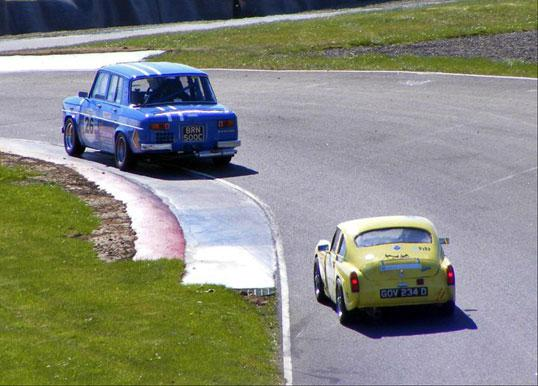 MSCC members in action at Knockhill