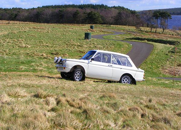 MSCC Production Car Trials at Forrestburn