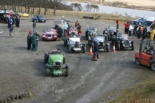 The Flying Scotsman Rally at Forrestburn