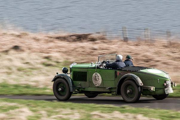 The Flying Scotsman Rally Forrestburn - Gareth Burnett(GB) / Martyn Taylor(GB) 1931 - Talbot 105 Alpine