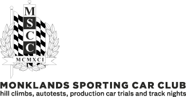 Monklands Sporting Car Club Logo