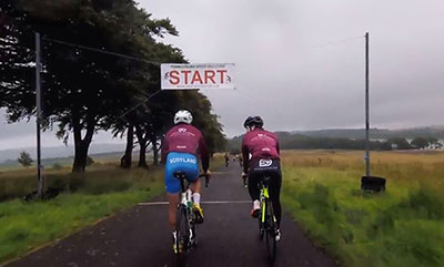 Cycling at Forrestburn – 13 August 2018