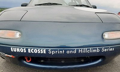 Eunos Ecosse MX-5s at Forrestburn
