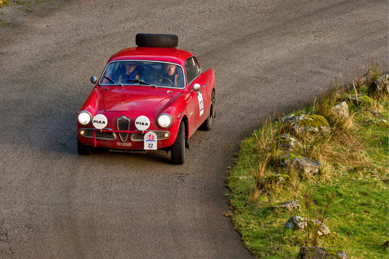 Alfa Romeo at Rest and Be Thankful